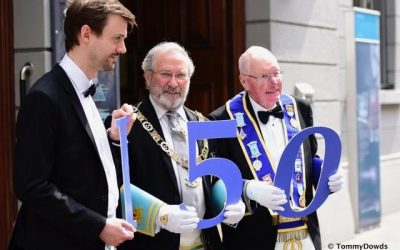 Provincial Grand Lodge Meeting in the Ulster Hall 26th May 2018
